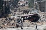 Phiến quân đầu hàng quân đội Syria tại Aleppo