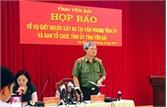 Khởi tố vụ án sát hại Bí thư, Chủ tịch HĐND tỉnh Yên Bái