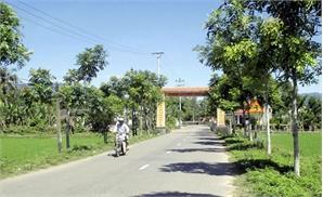 Ý tưởng dự thi: Phủ xanh đường nông thôn