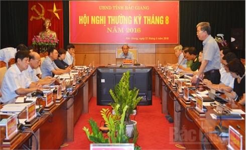 UBND tỉnh họp thường kỳ tháng 8: Tập trung cao cho 4 dự án trọng điểm