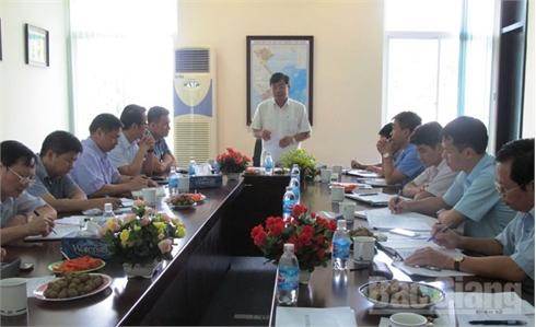 Đẩy nhanh tiến độ giải phóng mặt bằng và xây dựng cơ sở hạ tầng tại KCN Vân Trung