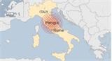 Động đất mạnh phá hủy nửa thị trấn ở Italy