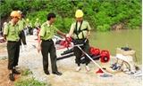 Tập huấn nghiệp vụ phòng cháy, chữa cháy rừng