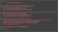 Cảnh báo mã độc tống tiền tấn công người dùng Việt