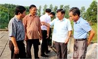 Tập trung nhân lực thi công, cấp nước đúng thời hạn tại Lạng Giang