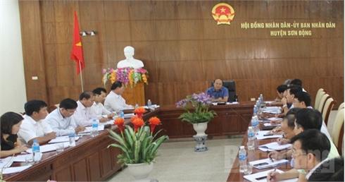 Coi trọng phát triển kinh tế rừng, khai thác  tiềm năng khoáng sản, du lịch sinh thái huyện Sơn Động