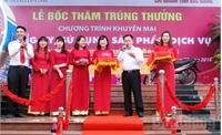28 khách hàng trúng thưởng khuyến mại của Agribank Bắc Giang