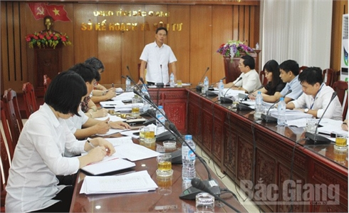 HĐND tỉnh Bắc Giang khảo sát hoạt động cho thuê và thuê lại nhà xưởng ngoài khu công nghiệp