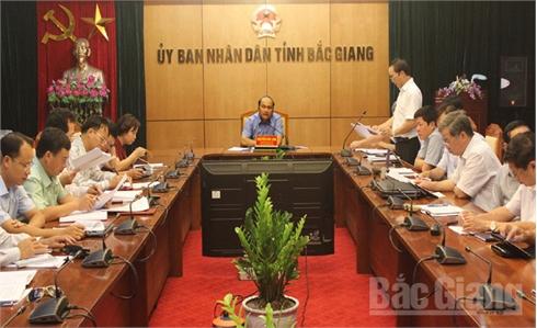Chủ tịch UBND tỉnh Bắc Giang Nguyễn Văn Linh: Tập trung tháo gỡ vướng mắc trong xây dựng cơ bản