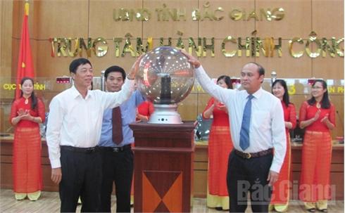 Bắc Giang: Khai trương Trung tâm hành chính công