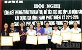 Hội LHPN tỉnh Bắc Giang thi đua xây dựng gia đình hạnh phúc