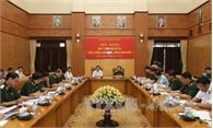 Quân ủy Trung ương góp ý xây dựng, chỉnh đốn Đảng