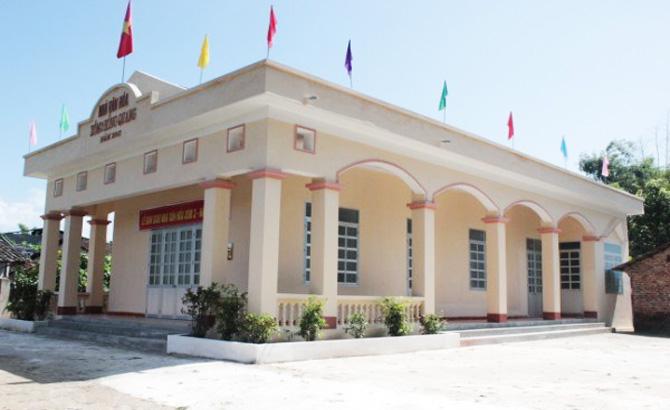 Hội Chữ thập đỏ tỉnh, hỗ trợ, công trình, xây dựng, nông thôn mới
