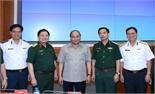 Thủ tướng Nguyễn Xuân Phúc làm việc với Bộ Quốc phòng