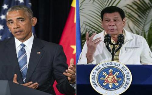 Sóng gió, quan hệ, Mỹ - Philippines,  ông Duterte