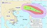 Cơn bão Megi đang hình thành ngoài khơi