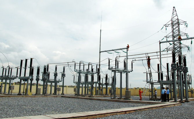 Khánh thành, Trạm biến áp, 110 kV, Sông Cầu, Hiệp Hòa