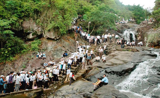 Ngày 27- 9, miễn phí vào  Khu du lịch sinh thái Suối Mỡ
