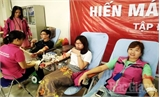 Tiếp nhận 204 đơn vị máu