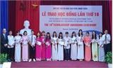 Trao học bổng Fuyo cho 80 sinh viên xuất sắc trên cả nước
