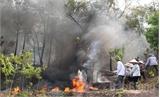 Yên Dũng diễn tập phòng cháy, chữa cháy rừng