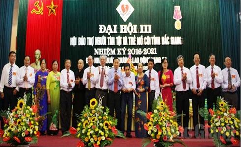 Đại hội Hội Bảo trợ người tàn tật và trẻ mồ côi tỉnh Bắc Giang lần thứ III