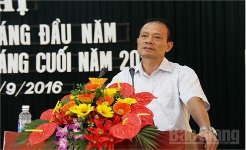 UBND tỉnh Bắc Giang tổ chức Hội nghị thông tin báo chí quý III - 2016