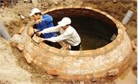 Xây dựng 1,9 nghìn hầm khí biogas