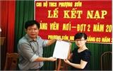 Lục Ngạn hoàn thành kế hoạch kết nạp đảng viên