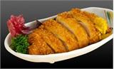 Giòn ngon thịt lợn cuộn chiên xù