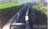 Sửa chữa kênh tưới hồ Suối Nứa