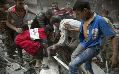 Lời giải, bài toán Syria, xung đột, đánh bom