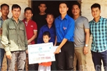 Hỗ trợ em Trịnh Đình Công 12 triệu đồng