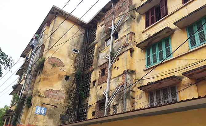 Cải tạo, xây dựng lại khu chung cư cũ phường Trần Nguyên Hãn