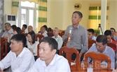 Chủ tịch HĐND, UBND TP Bắc Giang tiếp xúc, đối thoại với nhân dân