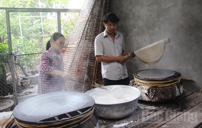 bánh đa Kế, bánh đa, món ngon, TP Bắc Giang