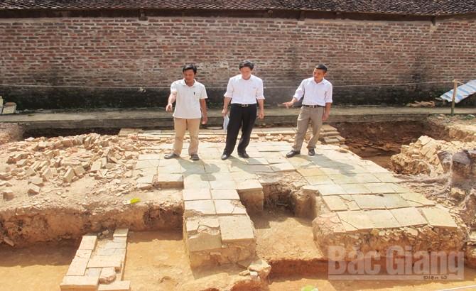 Kiến trúc, chùa Hả, đền Hả, khảo cổ học, di tích