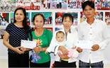 Hỗ trợ hơn 112 triệu đồng cho trẻ em nghèo phẫu thuật tim