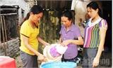 'Túi rác tiết kiệm' của phụ nữ xã Đồng Tâm
