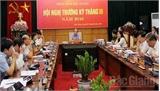 Bắc Giang: Thông qua nhiều văn bản về quản lý KT-XH