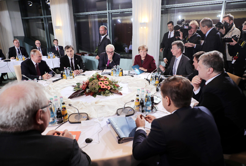 Tương lai, Ukraine, cuộc họp, nhóm Normandy