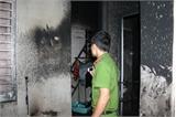Hai cha con chết cháy trong nhà 2 tầng