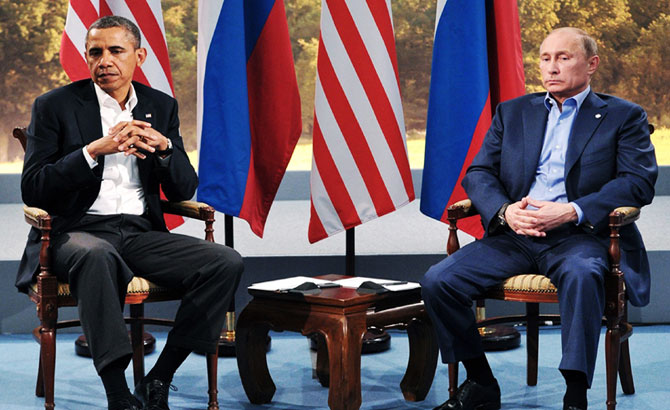 Nga - Mỹ, quan hệ, cuộc so găng, cân não