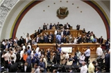 Phe ủng hộ Tổng thống Venezuela tràn vào Quốc hội