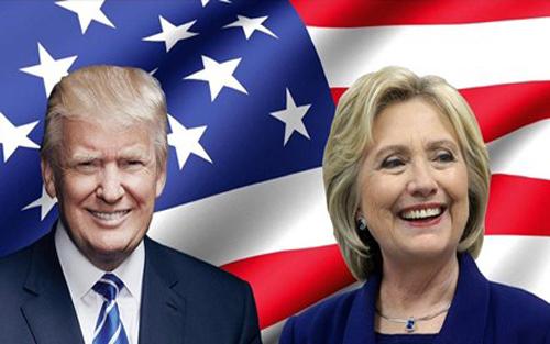 xảy ra,  bà Clinton, ông Trump, chiến thắng, cuộc bầu cử