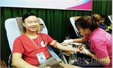 Trường Đại học Nông - Lâm Bắc Giang: Hiến 170 đơn vị máu an toàn