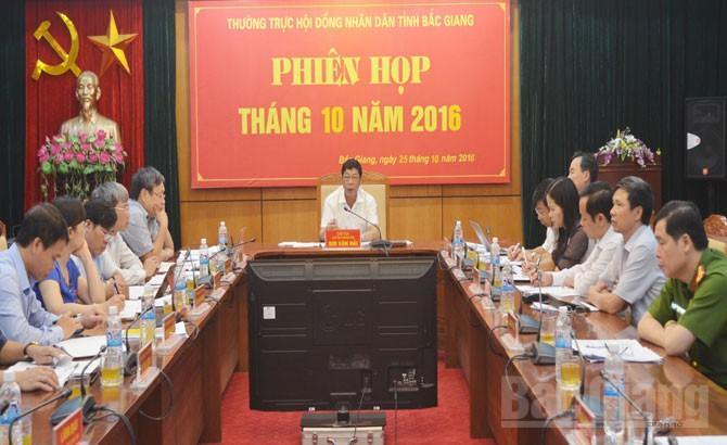 Xem xét, giải trình, hoạt động, cho thuê, thuê lại, nhà xưởng, địa bàn, tỉnh Bắc Giang