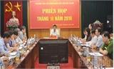 Xem xét giải trình về hoạt động cho thuê và thuê lại nhà xưởng trên địa bàn tỉnh Bắc Giang