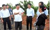 Phó Chủ tịch UBND tỉnh Dương Văn Thái kiểm tra xây dựng nông thôn mới tại Lục Ngạn