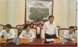 Giám đốc Học viện Chính trị quốc gia Hồ Chí Minh làm việc tại Bắc Giang